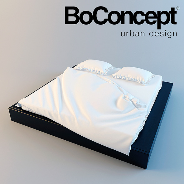 BoConcept Bed Limo - 3DOcean Item for Sale