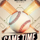 Baseball Game Flyer Template - GraphicRiver Item for Sale
