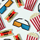 Movie Night Pattern - GraphicRiver Item for Sale