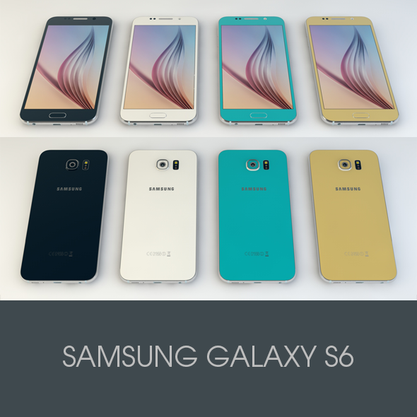 Samsung GALAXY S6 - 3DOcean Item for Sale