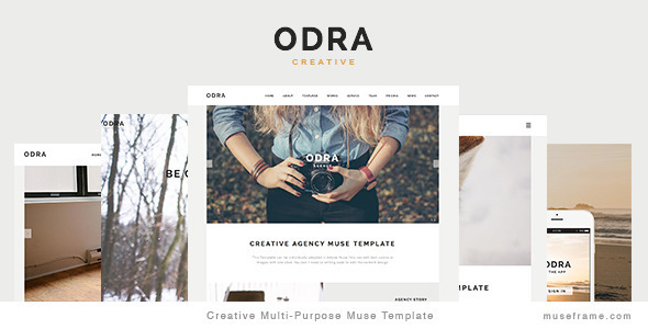 ODRA – Creative Multi-Purpose Muse Template