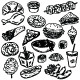 Collection of Food Items  - GraphicRiver Item for Sale