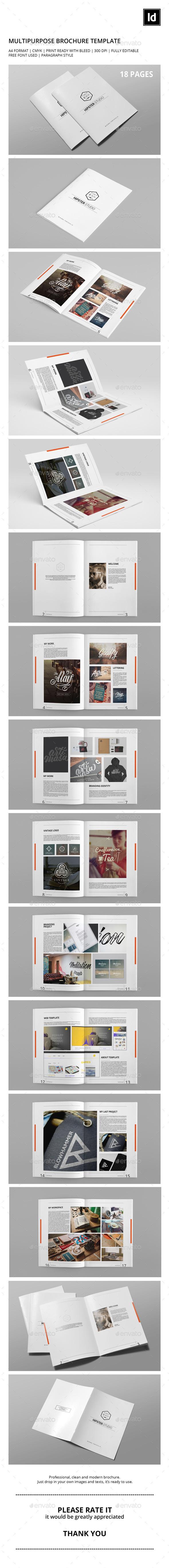 Minimal Portfolio Brochure - Portfolio Brochures