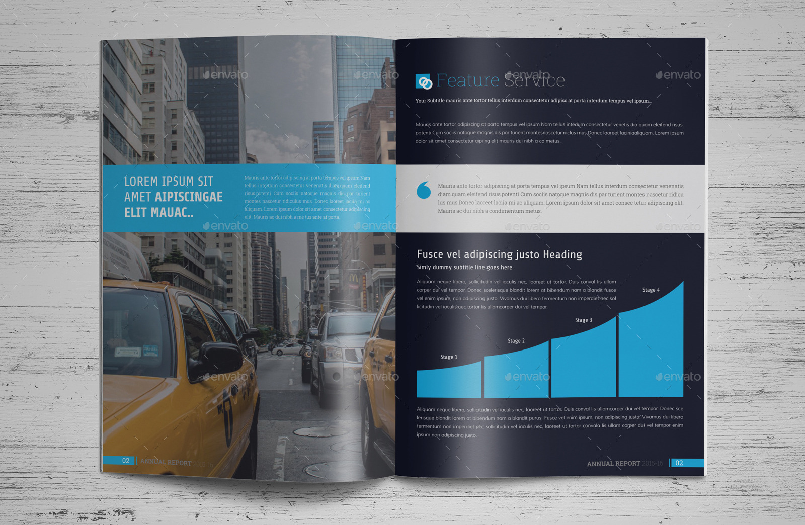 Annual Report InDesign Template by Jbn-Comilla   GraphicRiver