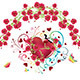 Heart with Roses - GraphicRiver Item for Sale