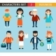 Business Male and Female Characters - GraphicRiver Item for Sale