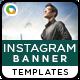 Instagram Banner Templates - 10 Designs - GraphicRiver Item for Sale