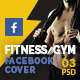 Fitness / Gym  Facebook Timeline Covers - GraphicRiver Item for Sale