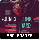 Hardcore Industrial Music Event Poster - GraphicRiver Item for Sale
