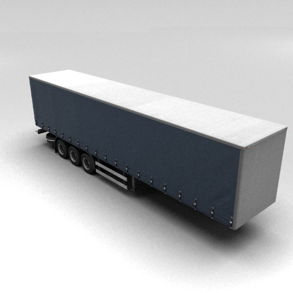 Long trailer - 3DOcean Item for Sale
