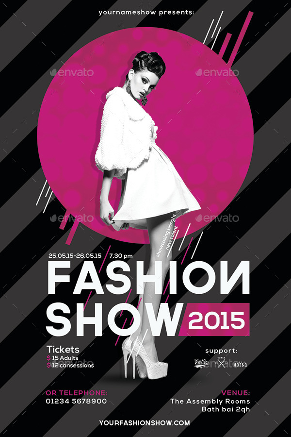 fashion show flyer by vorsa