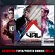 Guest DJ Party Flyer/Poster Bundle Vol.5 - GraphicRiver Item for Sale