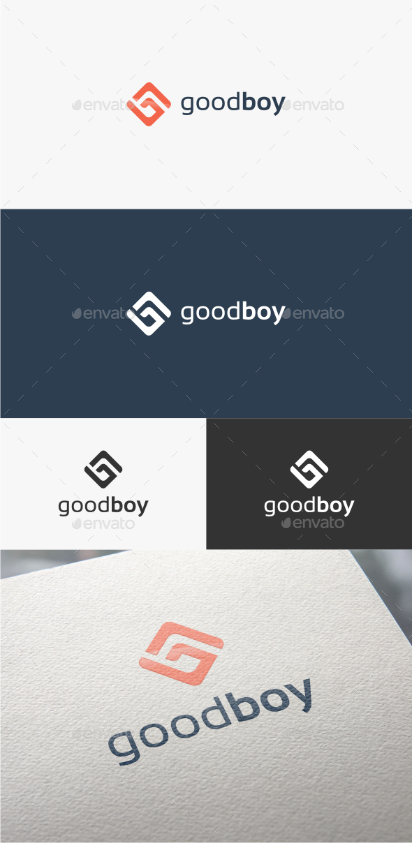 Good Boy Letter G - Logo Template - Letters Logo Templates