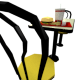 Low Poly Fast Food Meal with Table and Chairs - 3DOcean Item for Sale