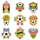 Set of Soccer Badges - GraphicRiver Item for Sale