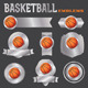 Vector Basketball Emblems Illustration - GraphicRiver Item for Sale