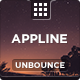 AppLine - Startup Unbounce Template