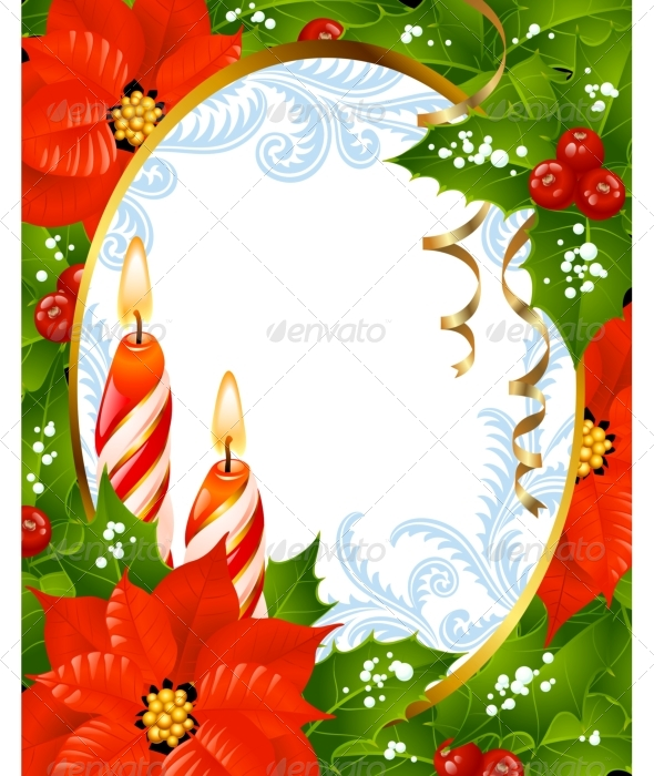 Christmas and New Year greeting card by denis13 | GraphicRiver