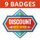 Sale Badges in Flat Style Design - GraphicRiver Item for Sale