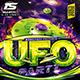 Flyer UFO Party Konnekt - GraphicRiver Item for Sale