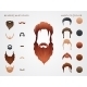 Beards and Mustaches - GraphicRiver Item for Sale