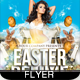 Easter Deluxe Party Flyer - GraphicRiver Item for Sale