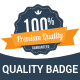 Premium Quality Badge - GraphicRiver Item for Sale