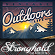 Vintage Outdoor Life Poster Template - GraphicRiver Item for Sale