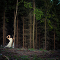Lovely bride outdoors in a forest - PhotoDune Item for Sale