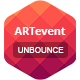 ARTevent - Unbounce Template - ThemeForest Item for Sale