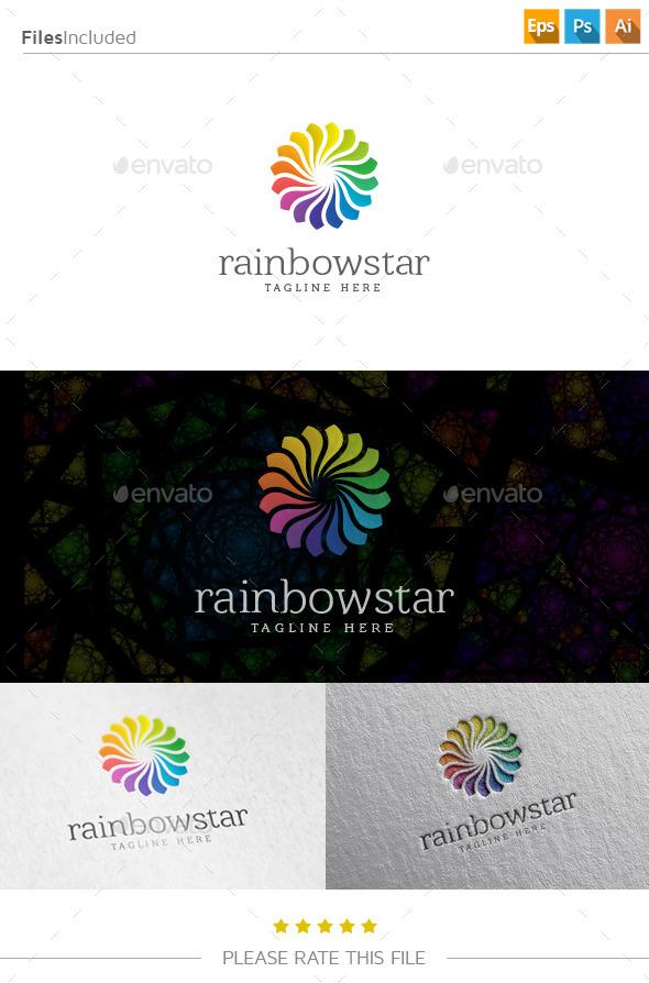 Rainbow Star Logo