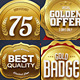 Gold Sale Badges 5 - GraphicRiver Item for Sale