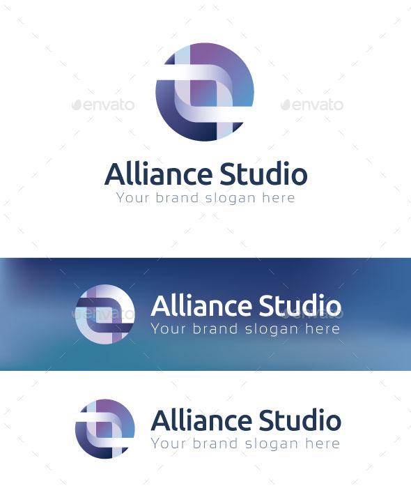 Alliance Studio Logo Template - Abstract Logo Templates