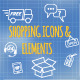 Set of Shopping Icons - GraphicRiver Item for Sale