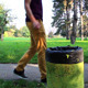 Man Throwing Paper In Trash Can - VideoHive Item for Sale