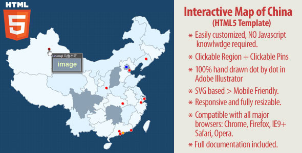 Interactive map of china html5 by art101 codecanyon interactive map of china html5 codecanyon item for sale gumiabroncs Images