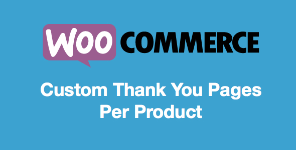 Custom Thank You Pages Per Product for WooCommerce - CodeCanyon Item for Sale