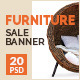 Furniture Sale Banners - GraphicRiver Item for Sale