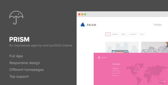 Prism – Portfolio & Photography Retina Theme