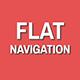 Flat Navigation Bar - GraphicRiver Item for Sale