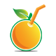 Orange Juice Logo - GraphicRiver Item for Sale