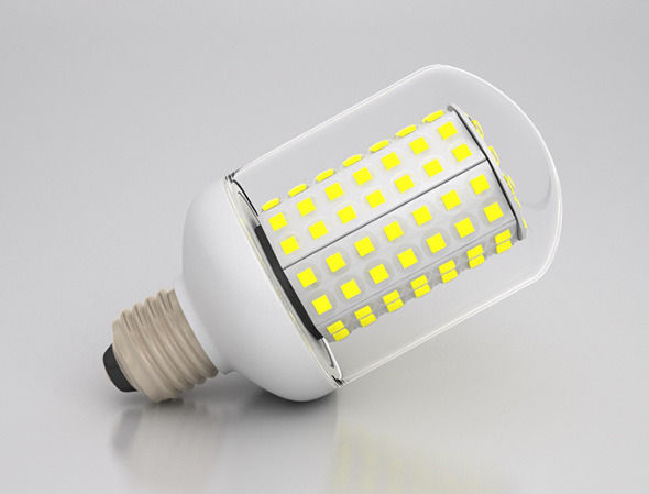 Energy Saver LED Light Bulb - 3DOcean Item for Sale