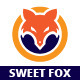 Sweet Fox Logo Template - GraphicRiver Item for Sale