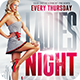 Ladies Night Party   Psd Flyer Template - GraphicRiver Item for Sale