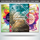 Colorful Flyers Bundle Vol.16 - GraphicRiver Item for Sale