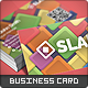 Slab Business Card - GraphicRiver Item for Sale