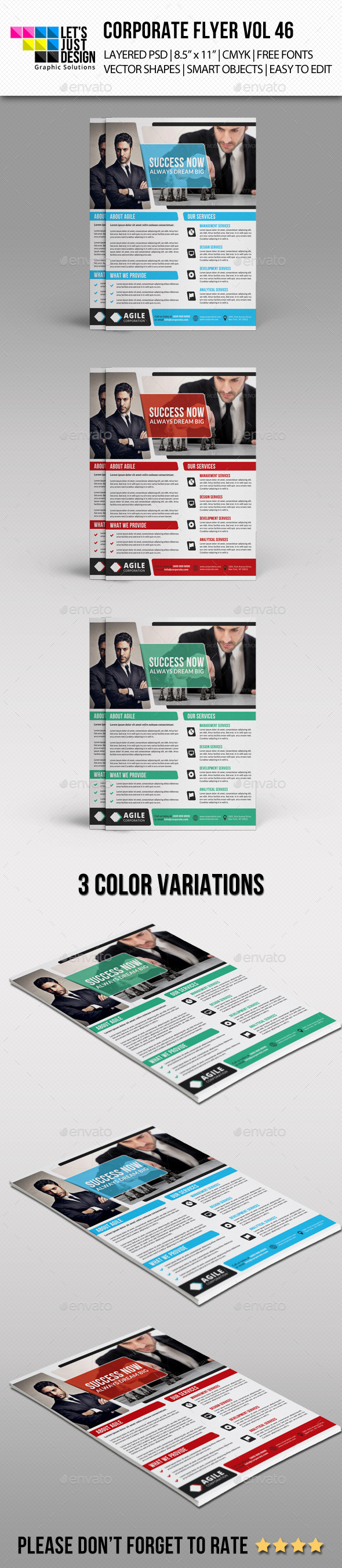 Corporate Flyer Template Vol 46 - Corporate Flyers