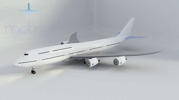 Rigged Boeing 747-8 Intercontinental - 3DOcean Item for Sale