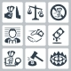 Corruption Related Icon Set - GraphicRiver Item for Sale