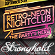Retro Neon Party Flyer Template - GraphicRiver Item for Sale